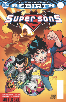 Review: Super Sons Vol. 1: When I Grow Up (Rebirth)